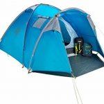 Columbus Garda Tente de Camping pour 4 Personnes Mixte Adulte, Bleu, Unique de la marque COLUMBUS TOP 9 image 0 produit