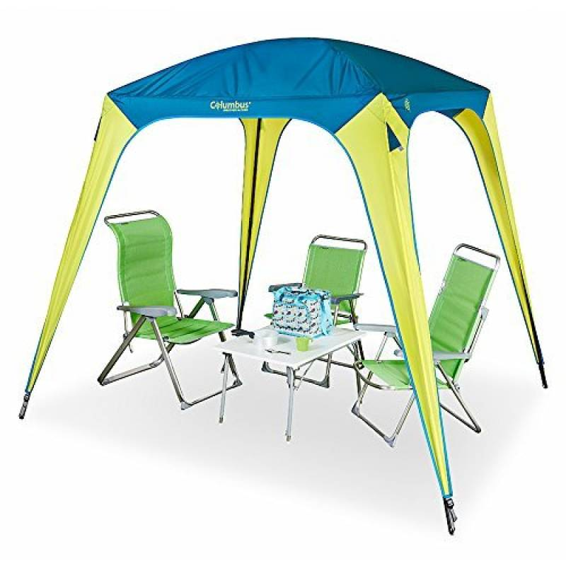 Columbus Simple Tente de Camping Mixte Adulte, Jaune/Bleu, Unique de la marque COLUMBUS TOP 6 image 0 produit