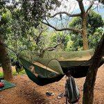 G4Free Camping portable pliable Hamac Moustiquaire Tente Arbre Lit suspendu pour le camping en plein air Randonn¨¦e p¨¦destre Voyage en arri¨¨re-cour et arri¨¨r TOP 7 image 1 produit