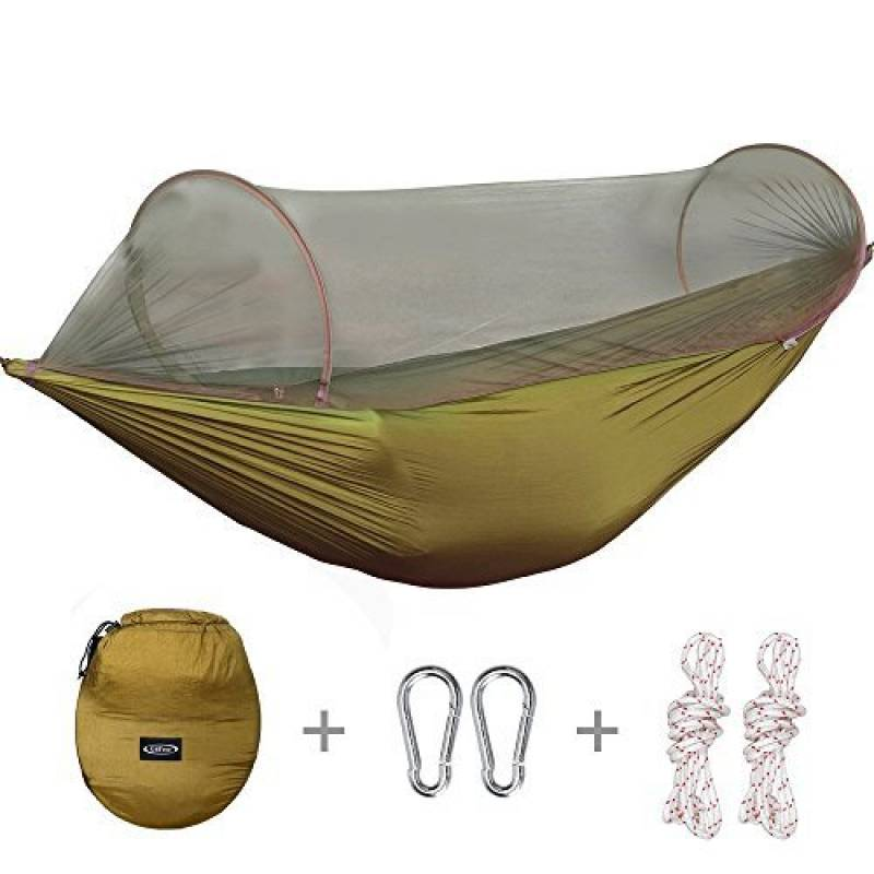 G4Free Camping portable pliable Hamac Moustiquaire Tente Arbre Lit suspendu pour le camping en plein air Randonn¨¦e p¨¦destre Voyage en arri¨¨re-cour et arri¨¨r TOP 7 image 0 produit