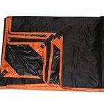 GEERTOP Tapis de tente/ Bâche/ Tarp/ Tapis de Sol 20D Imperméable Ultra Léger - 210 x 130 cm (225g) - 2 Personne Portable à poche flexible solide pour camping r TOP 7 image 2 produit