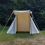 Historique Saxon revendeur Tente 4x 2,5m, naturel, 425gsm Ritter Tente Roulement LARP médiéval viking de la marque Battle Merchant TOP 3 image 1 produit