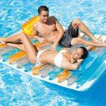 Intex–Matelas gonflable double et 2oreillers, 198x 160cm (56897eu) de la marque Intex TOP 2 image 1 produit