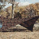 OneTigris Tarp Camouflage De Tente Imperméable Léger Bâche Polyvalente Robuste 2.7m*2.7m Pour Camping Randonnée Voyage de la marque OneTigris TOP 6 image 1 produit
