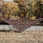 OneTigris Tarp Camouflage De Tente Imperméable Léger Bâche Polyvalente Robuste 2.7m*2.7m Pour Camping Randonnée Voyage de la marque OneTigris TOP 6 image 2 produit