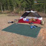 OUTAD Tapis de Sol / Bâche de Tente Étanche Pour Camping Randonnée ou Pique-nique (150 / 180 / 240 × 220 CM) de la marque OUTAD TOP 8 image 4 produit