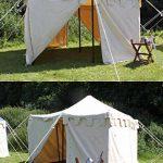 Palazzo24Moyen-âge Tente Ritter Herold, 3x 3m Tente Roulement LARP Ritter médiéval viking couleurs assorties de la marque Battle Merchant TOP 12 image 1 produit
