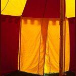 Palazzo24ronde Moyen-âge Tente herwald, 3m de diamètre Ritter LARP Roulement Tente médiéval viking couleurs assorties de la marque Battle Merchant TOP 7 image 2 produit