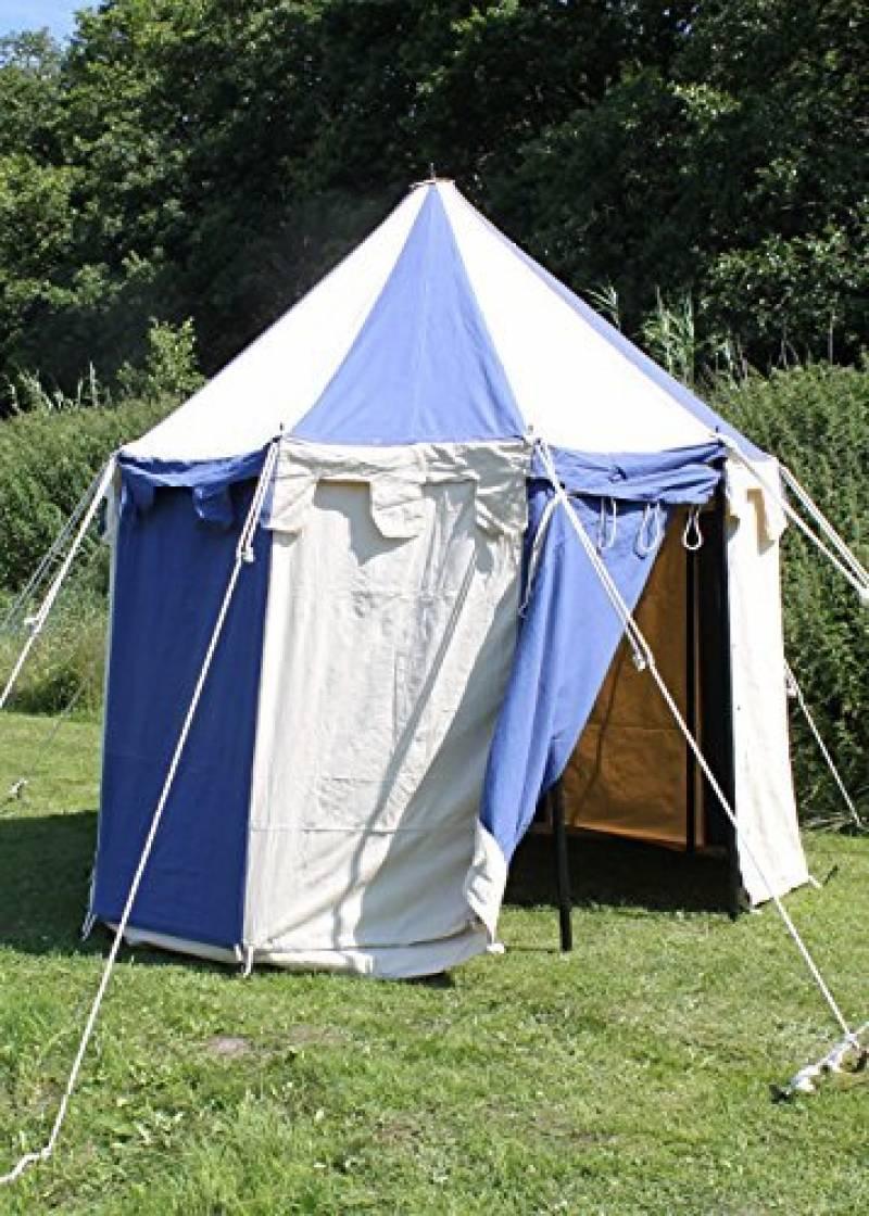 Palazzo24ronde Tente Johann médiévale, 3m de diamètre Ritter Tente Roulement LARP médiéval viking couleurs assorties de la marque Battle Merchant TOP 4 image 0 produit