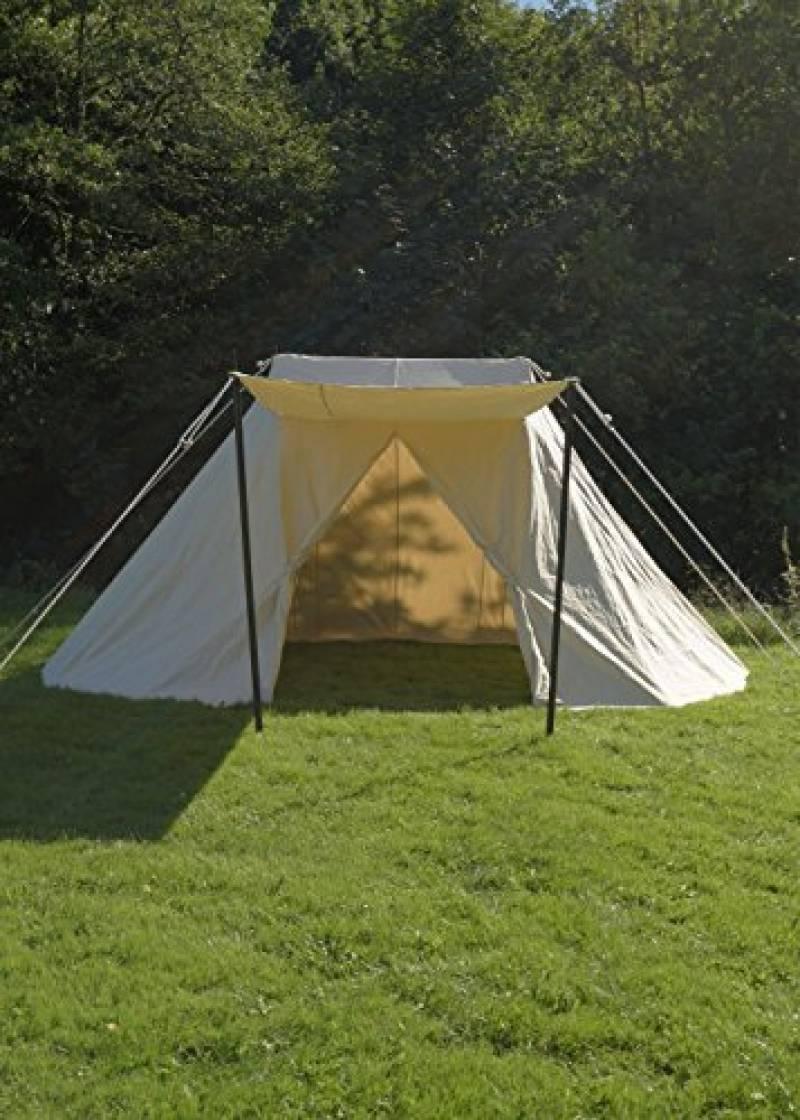 Sachse Tente jorvik naturel 2x 4m, 340GSM, Ritter Tente Roulement LARP médiéval viking de la marque Battle Merchant TOP 11 image 0 produit