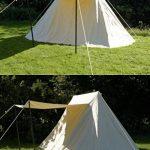 Sachse Tente jorvik naturel 2x 4m, 340GSM, Ritter Tente Roulement LARP médiéval viking de la marque Battle Merchant TOP 11 image 1 produit