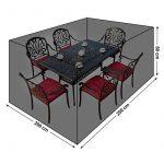 Songmics Bâche de protection pour des meubles de jardin 240 x 140 x 90 cm GFC93L de la marque Songmics TOP 1 image 1 produit