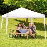 TecTake Tonnelle de jardin tente réception pavillon barnum chapiteau 3x3m pliante pliable blanc de la marque TecTake TOP 10 image 1 produit