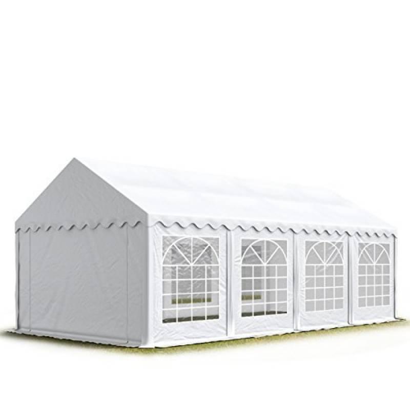 Tente Barnum de Réception 4x8 m ECONOMY Bâches Amovibles PVC 500 g/m² blanc / Jardin Tonnelle Pavillon Chapiteau de la marque INTENT24 TOP 8 image 0 produit