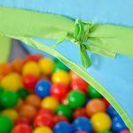 Tente de jeu pour enfants | léger à transporter | Idéal pour l´intérieur et l´extérieur | Incl. pratique étui pour le garder / transporter | Maison de Jardin de TOP 1 image 2 produit