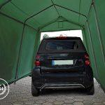 Abri / Tente garage PREMIUM 3,66 x 6,2 m pour voiture et bateau - toile PVC 500 g/m² imperméable / protection contre les rayons UV (80+) / structure robuste en TOP 3 image 1 produit