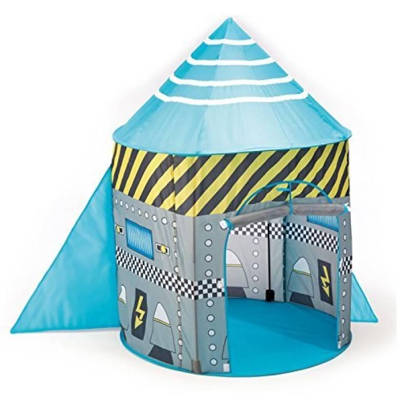 Enfants Pop Up vaisseau spatiale / engin spatial habité - tente pop up bleu. Garçons Jouet Tente de la marque Pop It Up TOP 1 image 0 produit