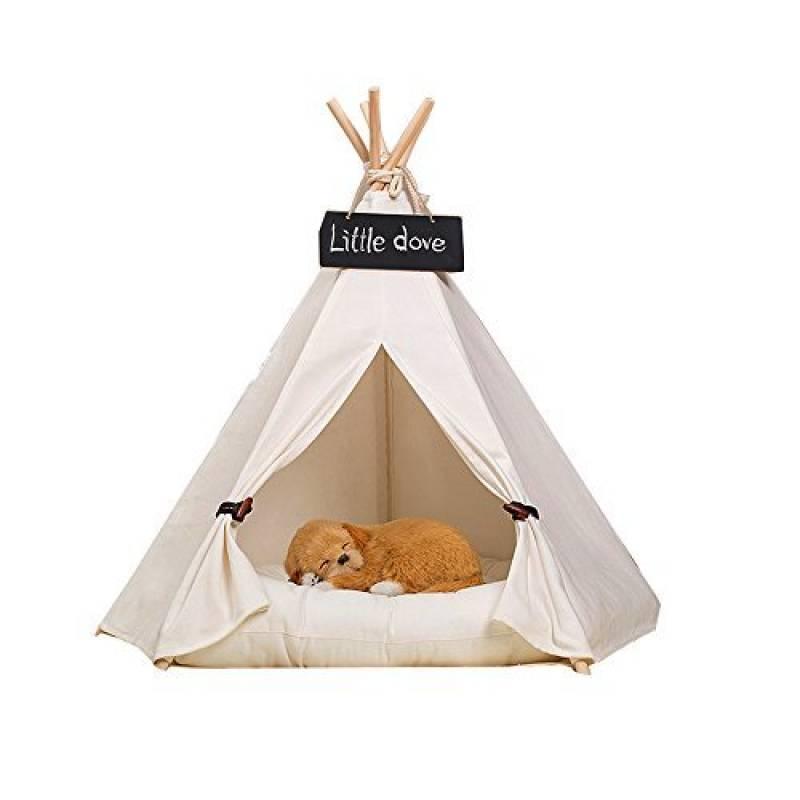 fessyc @ New Pet Blanc pur Design Pet chenils Play House Tente de jeu pour chien avec tapis pour chien/chat de la marque FESSYC TOP 3 image 0 produit
