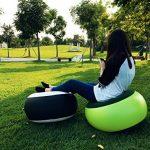 Firstwish gonflable Tabouret Portable extérieur Repose-pieds Coussin pour Home Office Yoga de la marque Firstwish TOP 4 image 1 produit