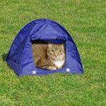 Karlie - 60866 - Tente pour chat - Plusieurs coloris disponibles - 43,5 x 43,5 x 40 cm de la marque Karlie TOP 9 image 1 produit