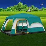MIAO Chambre extérieure de deux chambres 8-10 personnes Grande tente de camping de luxe de la marque MIAO TOP 10 image 0 produit