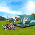 MIAO Chambre extérieure de deux chambres 8-10 personnes Grande tente de camping de luxe de la marque MIAO TOP 10 image 2 produit