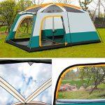 MIAO Chambre extérieure de deux chambres 8-10 personnes Grande tente de camping de luxe de la marque MIAO TOP 10 image 3 produit