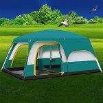 Miao extérieur deux salles pièce 8–10personnes Tente de camping Grand Luxe de la marque MiaoMiao TOP 7 image 0 produit