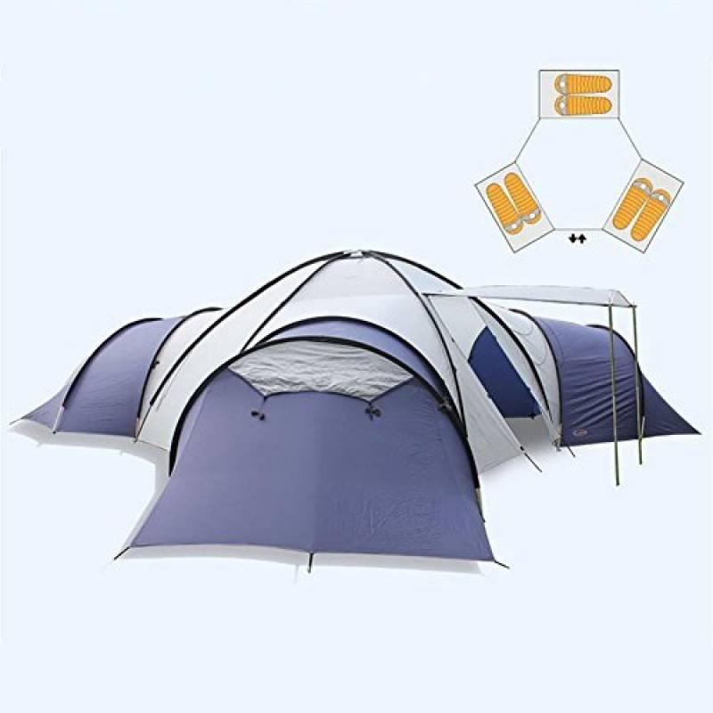 MIAO Tentes de camping de luxe, extérieures surdimensionnées Trois salons et un salon de la marque MIAO TOP 5 image 0 produit