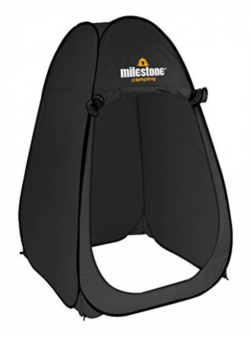 Milestone Unisexe pop-up Tente de douche, Noir, taille unique de la marque Milestone TOP 12 image 0 produit