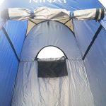 NINAT Pop Up Tente De Douche Vestiaire Des Tentes Cabine de Changement Toilette Pliable et Amovible pour Utilisation Extérieure de la marque NINAT TOP 2 image 2 produit