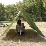 Pellor 3mx3m bâche de tente tapis de sol imperméable camouflage pour camping randonnée de la marque Pellor TOP 6 image 1 produit