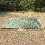 Pellor 3mx3m bâche de tente tapis de sol imperméable camouflage pour camping randonnée de la marque Pellor TOP 6 image 3 produit