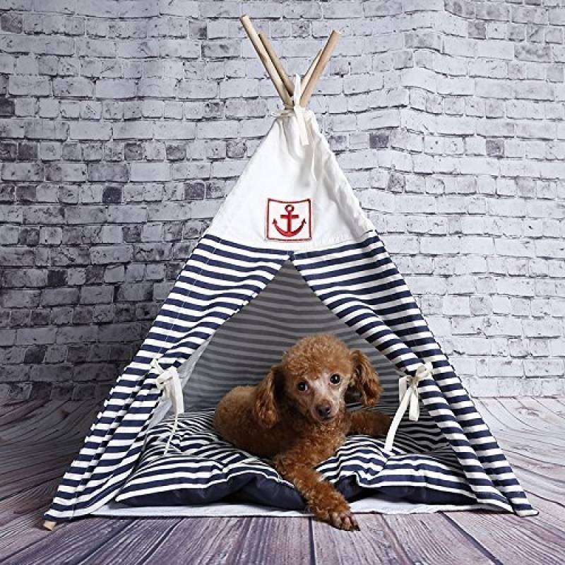Pericross-Pet Tente de Jouet Tipi Cabines de Tipi pour les Chats et les Chiens de la marque Pericross TOP 6 image 0 produit