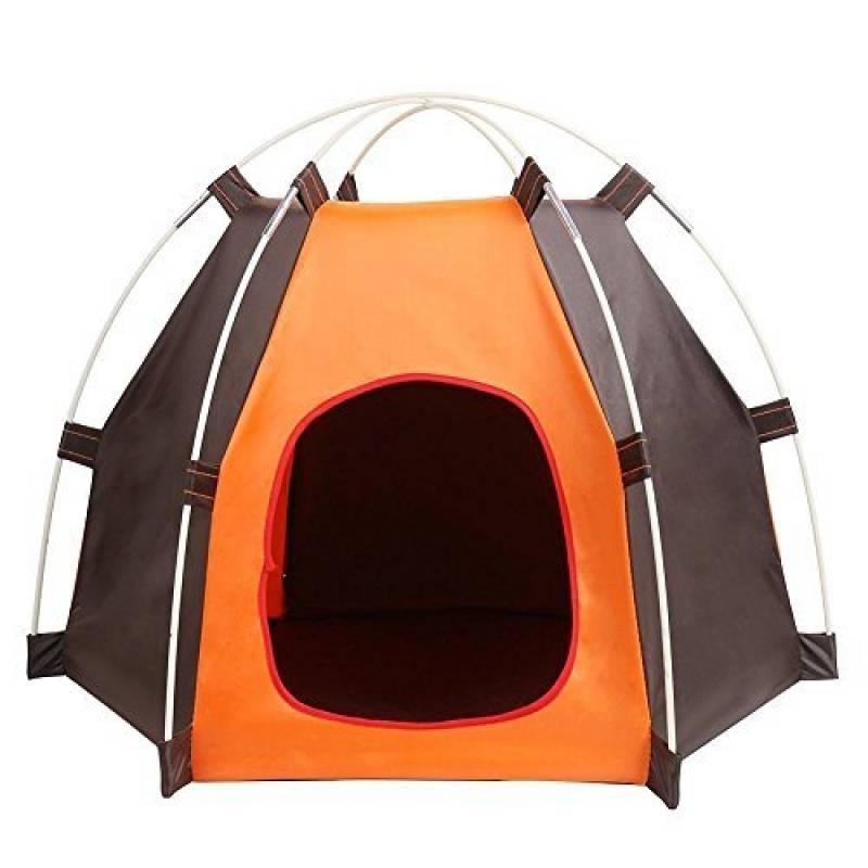 Pet House, maison pour chien pliable, portable, tente imperméable pour petit chien et chats, intérieur et extérieur Abri petits animaux de la marque Sand's Clov TOP 8 image 0 produit