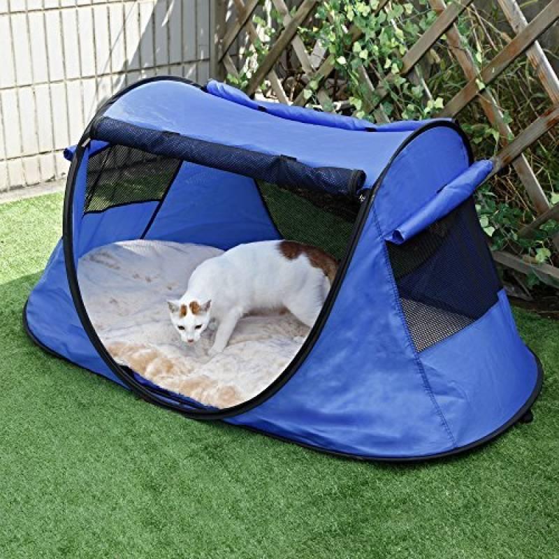 Petsfit Tente portable chat intrieur, Tente pliable extérieure pour chien et chat camping, maison amusante maille animal de compagnie, Lit jouer exercice chien TOP 2 image 0 produit