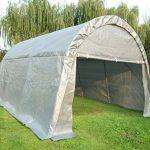 Quictent Tente 4m x 6m x 3m Heavy Duty Carport Canopy Garage de voiture Abri pour camion/SUV/bateau Argent de la marque Quictent TOP 6 image 0 produit