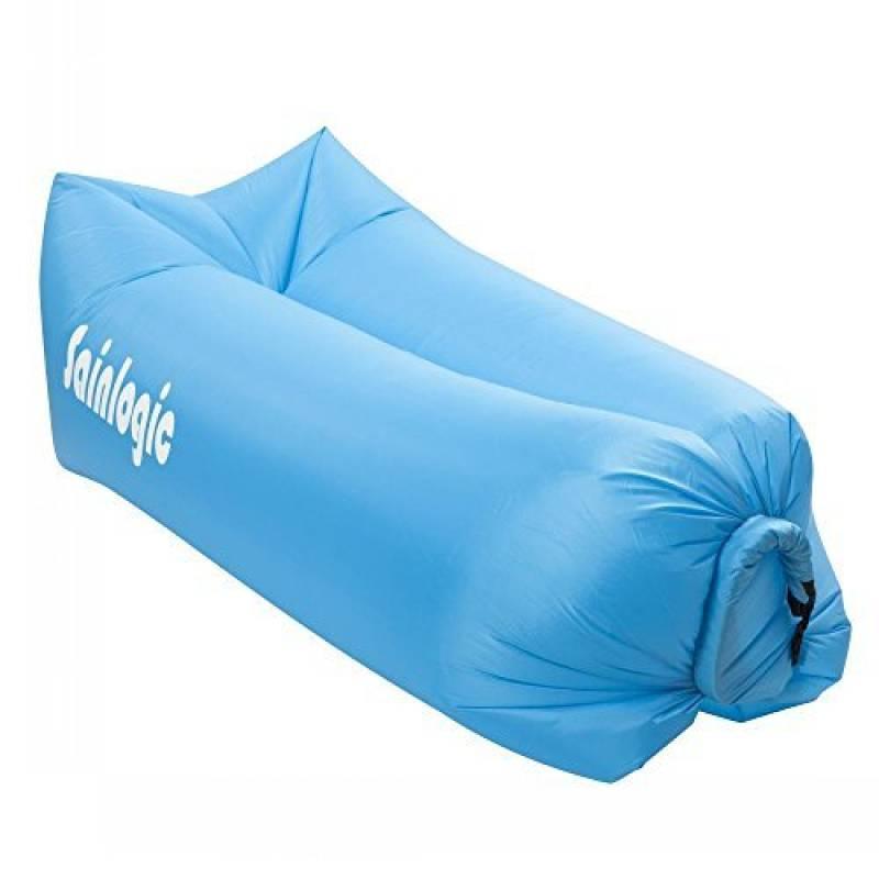 Sainlogic Airbag gonflable imperméable à l'eau, Airbag Airbag avec sac de transport, pour dormir à l'extérieur, à l'intérieur, pour l'inclinaiso TOP 11 image 0 produit