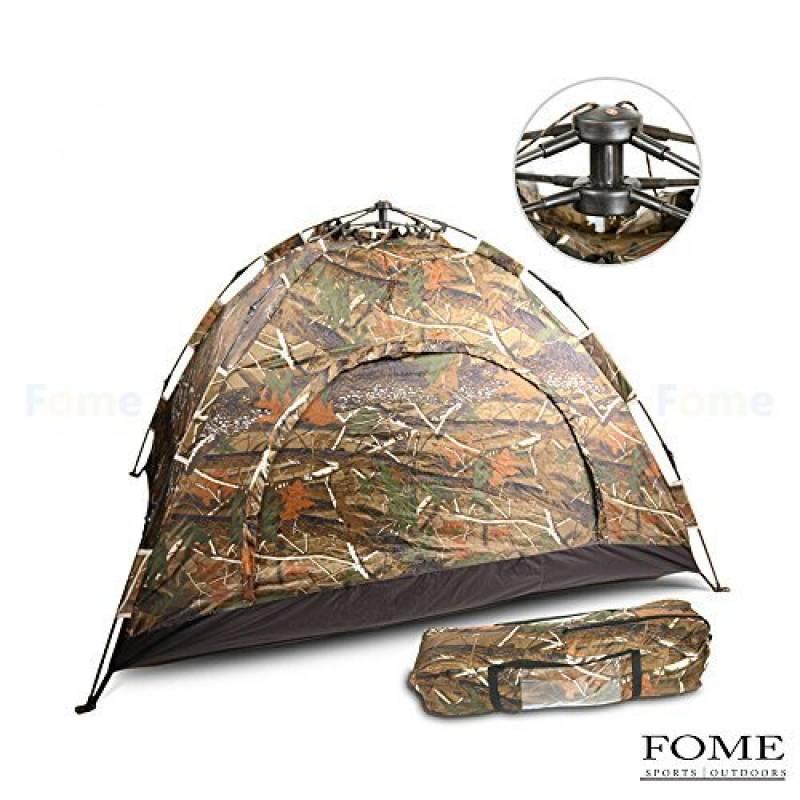 Tente de camping, Fome sports|outdoors léger pliable 2personnes automatique extérieur imperméable famille Tente Pop Up pour Voyage Camping Camouflage garantie TOP 2 image 0 produit