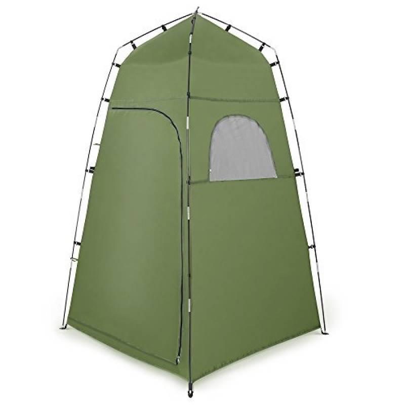 Tente de Douche Camping Terra Hiker, Cabine de Toilette WC Extérieure Abri de Plein Air Avec Fenêtres Pour Camping Randonnée Plage Séance Photo de la marque Ter TOP 8 image 0 produit