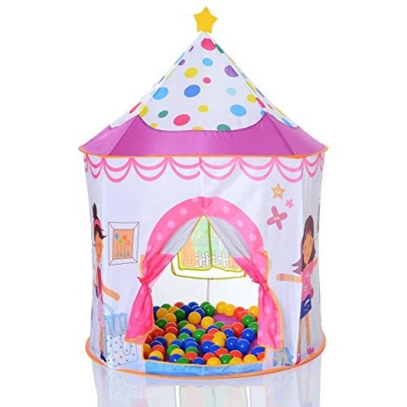 Tente de jeu enfant Pop Up Princess et 100 balles pour de piscine à balles de la marque LCP Kids® TOP 6 image 0 produit
