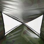 Tente Dôme Camouflage Etanche 2 Personnes Tente de Camping Bivouac Imperméable Anti UV Léger pour Randonnée Plage Camping Extérieur de la marque VGEBY TOP 13 image 2 produit