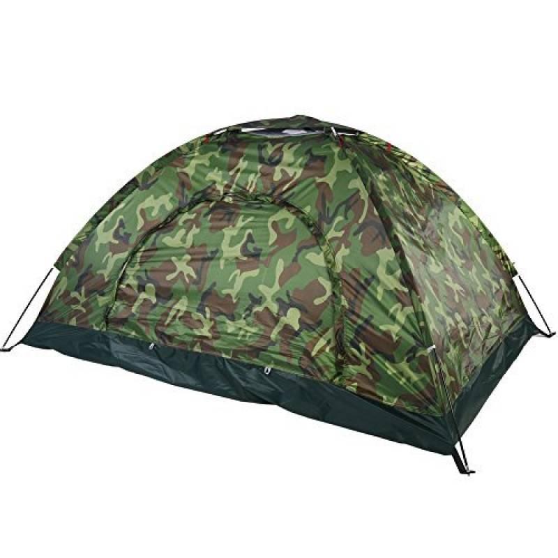 Tente Dôme Camouflage Etanche 2 Personnes Tente de Camping Bivouac Imperméable Anti UV Léger pour Randonnée Plage Camping Extérieur de la marque VGEBY TOP 13 image 0 produit