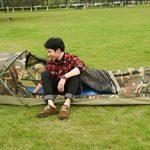 Tente Légère Bivvy de Camping Trekking Randonnée Ultralégère Imperméable - 230 x 75 x 60 H cm (1,25kg) - 1 Personne – Installation Facile et Rapide de la marque TOP 4 image 3 produit