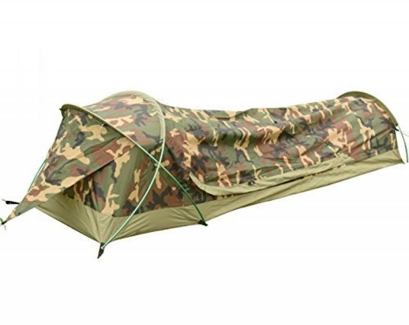 Tente Légère Bivvy de Camping Trekking Randonnée Ultralégère Imperméable - 230 x 75 x 60 H cm (1,25kg) - 1 Personne – Installation Facile et Rapide de la marque TOP 4 image 0 produit