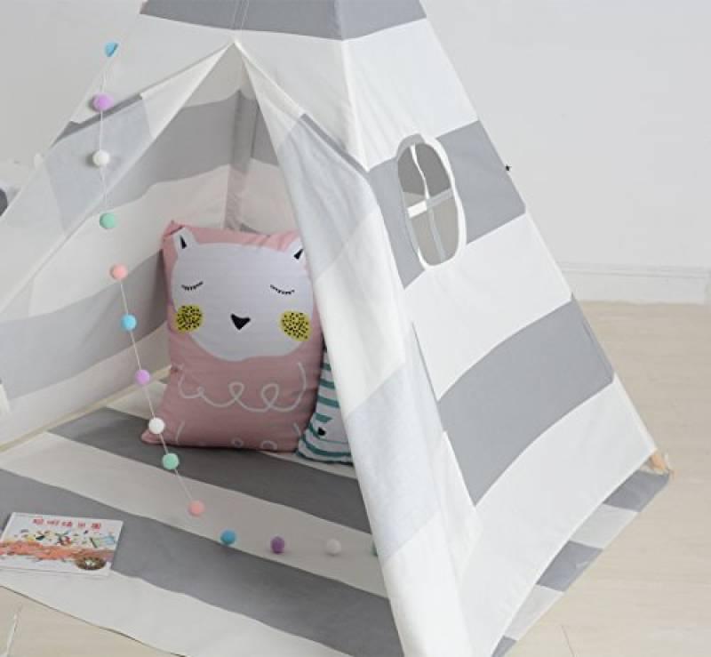 tente pour gar on joindre l utile l agr able tente. Black Bedroom Furniture Sets. Home Design Ideas