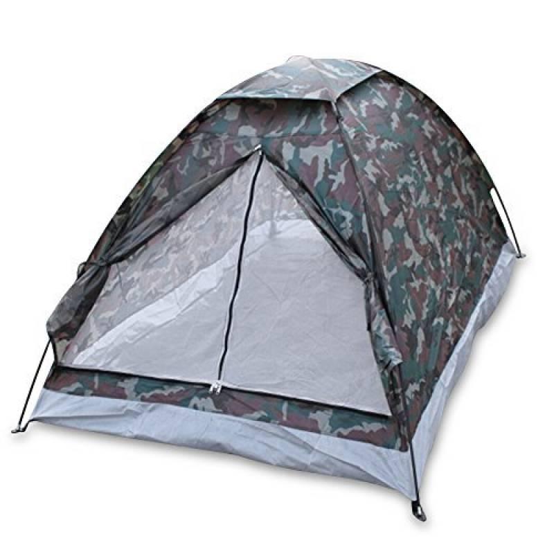 TOMSHOO Tente de camping portable Imperméable pour 2 personne seule couche de camouflage pour Pour Camping jardin Randonnée de la marque TOMSHOO TOP 3 image 0 produit