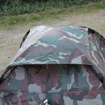 TOMSHOO Tente de camping portable Imperméable pour 2 personne seule couche de camouflage pour Pour Camping jardin Randonnée de la marque TOMSHOO TOP 3 image 2 produit