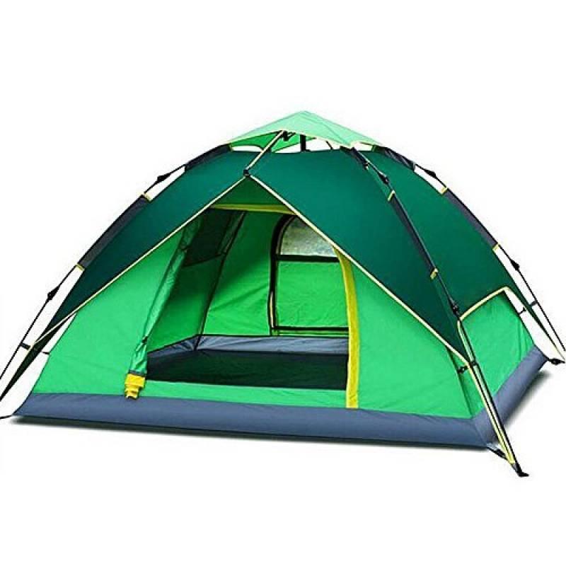 Towinle Tente de Camping Randonnée Imperméable Hydraulique Automatique à Double Couche pour 3-4 Personnes de la marque Qianjiangshui TOP 12 image 0 produit