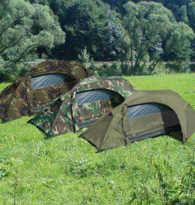 Utiliser une tente de camouflage pour se fondre dans la nature principale